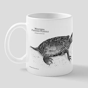 Western Painted Turtle Mug
