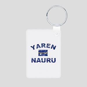 Yaren Nauru Designs Aluminum Photo Keychain
