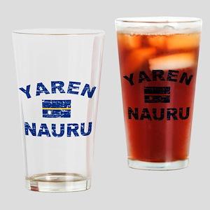 Yaren Nauru Designs Drinking Glass