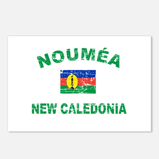 Noumea New Calidonia Designs Postcards (Package of
