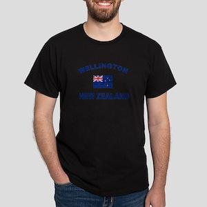 Wellington New Zealand Designs Dark T-Shirt