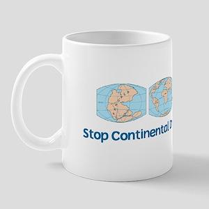 Stop Continental Drift Mug