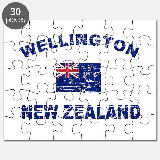 Wellington New Zealand Designs Puzzle