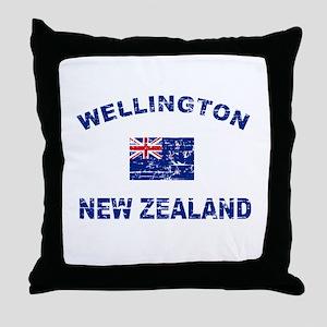 Wellington New Zealand Designs Throw Pillow