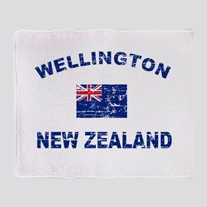 Wellington New Zealand Designs Throw Blanket
