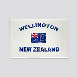 Wellington New Zealand Designs Rectangle Magnet