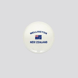 Wellington New Zealand Designs Mini Button