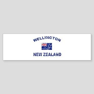 Wellington New Zealand Designs Sticker (Bumper)