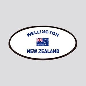 Wellington New Zealand Designs Patches
