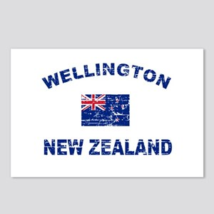 Wellington New Zealand Designs Postcards (Package
