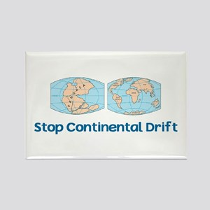 Stop Continental Drift Rectangle Magnet