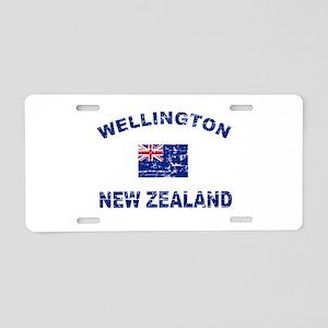 Wellington New Zealand Designs Aluminum License Pl