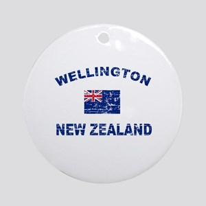 Wellington New Zealand Designs Ornament (Round)