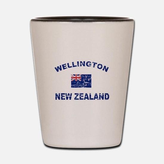 Wellington New Zealand Designs Shot Glass