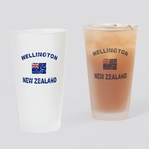 Wellington New Zealand Designs Drinking Glass