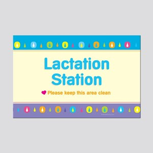 MM Lactation Station Mini Poster Print
