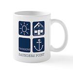Saunders Point Mug