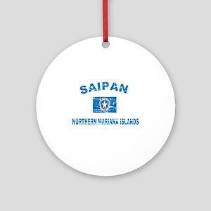 Saipan Northern Mariana Islands Designs Ornament (