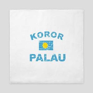 Koror Palau Designs Queen Duvet