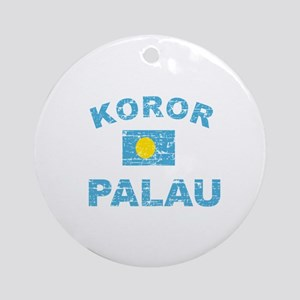 Koror Palau Designs Ornament (Round)