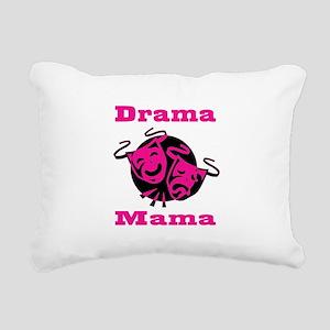 Drama Mama Rectangular Canvas Pillow