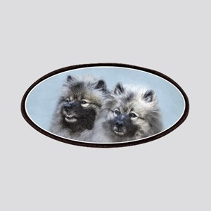 Keeshond Brothers Patch