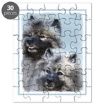 Keeshond Brothers Puzzle