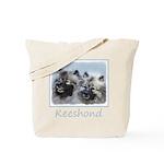 Keeshond Brothers Tote Bag