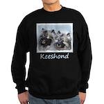 Keeshond Brothers Sweatshirt (dark)