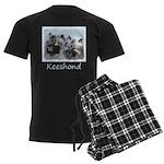 Keeshond Brothers Men's Dark Pajamas