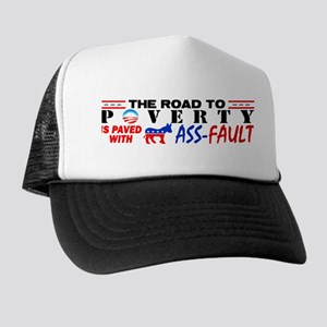 """""""Road To Poverty"""" Trucker Hat"""