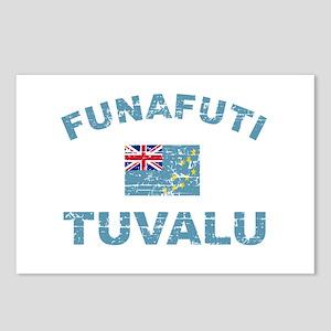 Funafuti Tuvalu Designs Postcards (Package of 8)