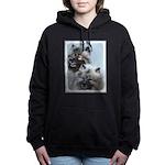 Keeshond Brothers Women's Hooded Sweatshirt