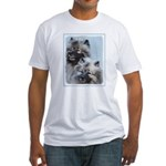Keeshond Brothers Fitted T-Shirt