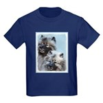 Keeshond Brothers Kids Dark T-Shirt