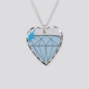 Diamond Necklace Heart Charm