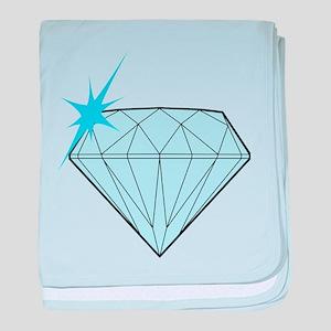 Diamond baby blanket