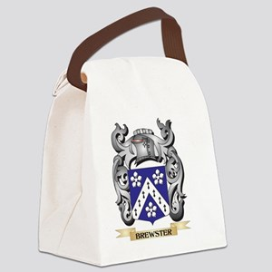 Brewster Family Crest - Brewster Canvas Lunch Bag