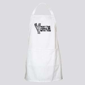 Forks Be With You Apron