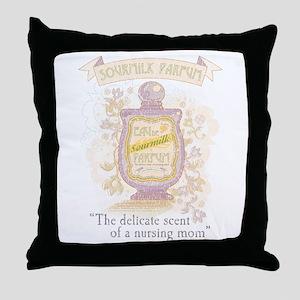 MM Sourmilk Parfum Throw Pillow