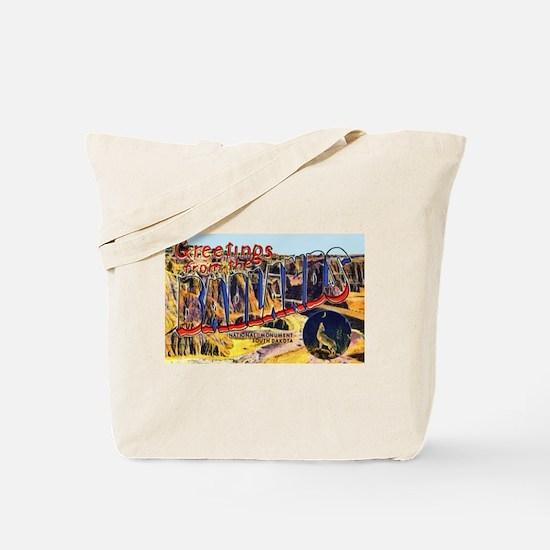 Badlands Greetings Tote Bag