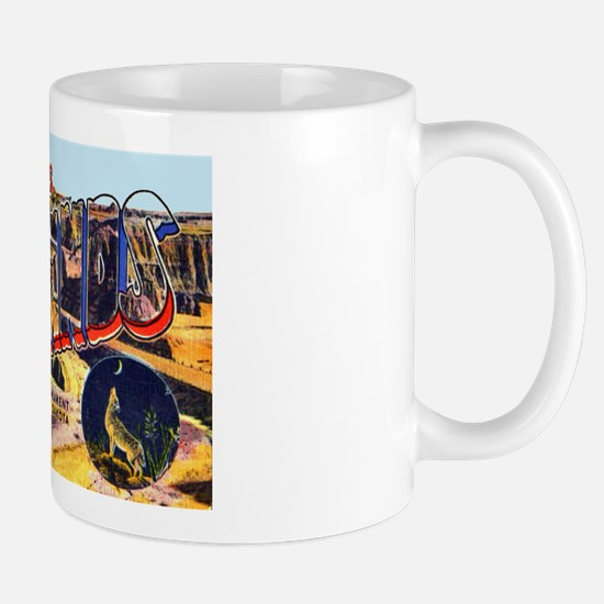 Badlands Greetings Mug