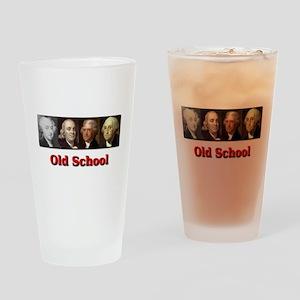 Old School Drinking Glass
