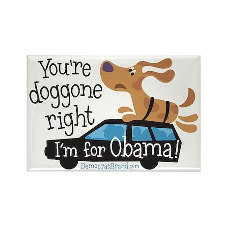 Doggone Right Rectangle Magnet