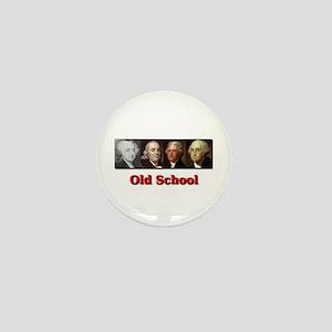Old School Mini Button