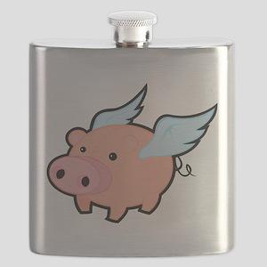 Flying Pig Flask