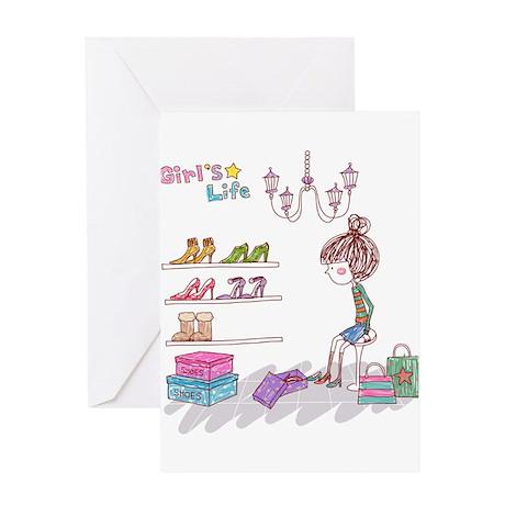 Girly Greeting Card