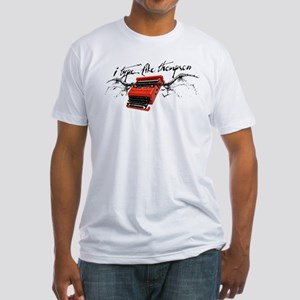 I TYPE LIKE THOMPSON Fitted T-Shirt