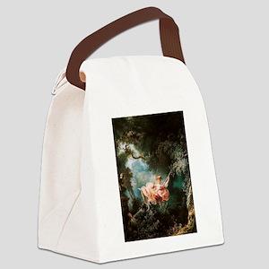 Jean-Honoré Fragonard The Swing Canvas Lunch Bag