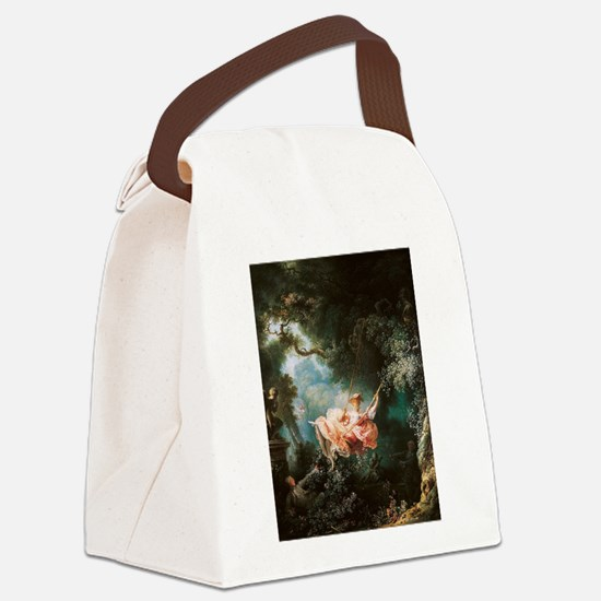 Jean-Honoré Fragonard The Swing Canvas Lunch Bag